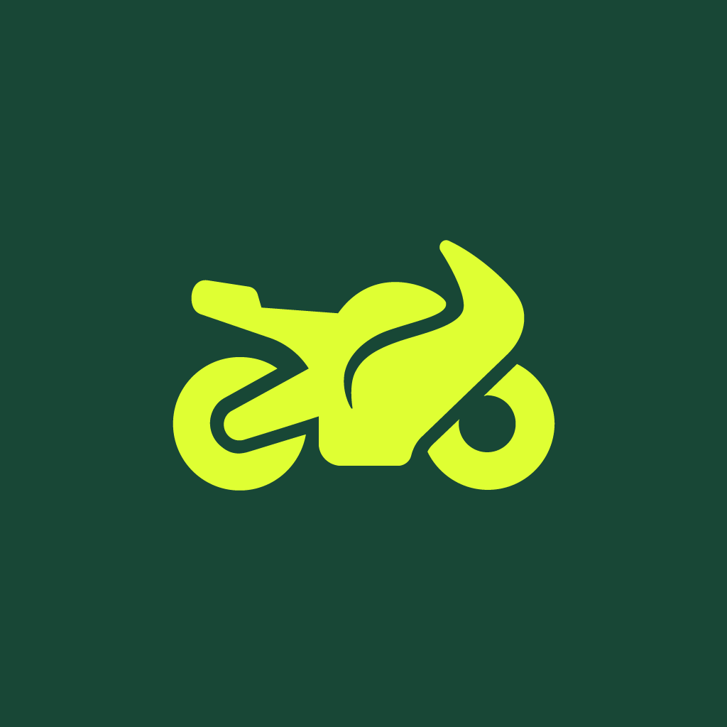 Motorcycle icon by #dutchicon for the Dutch Government (Rijksoverheid).