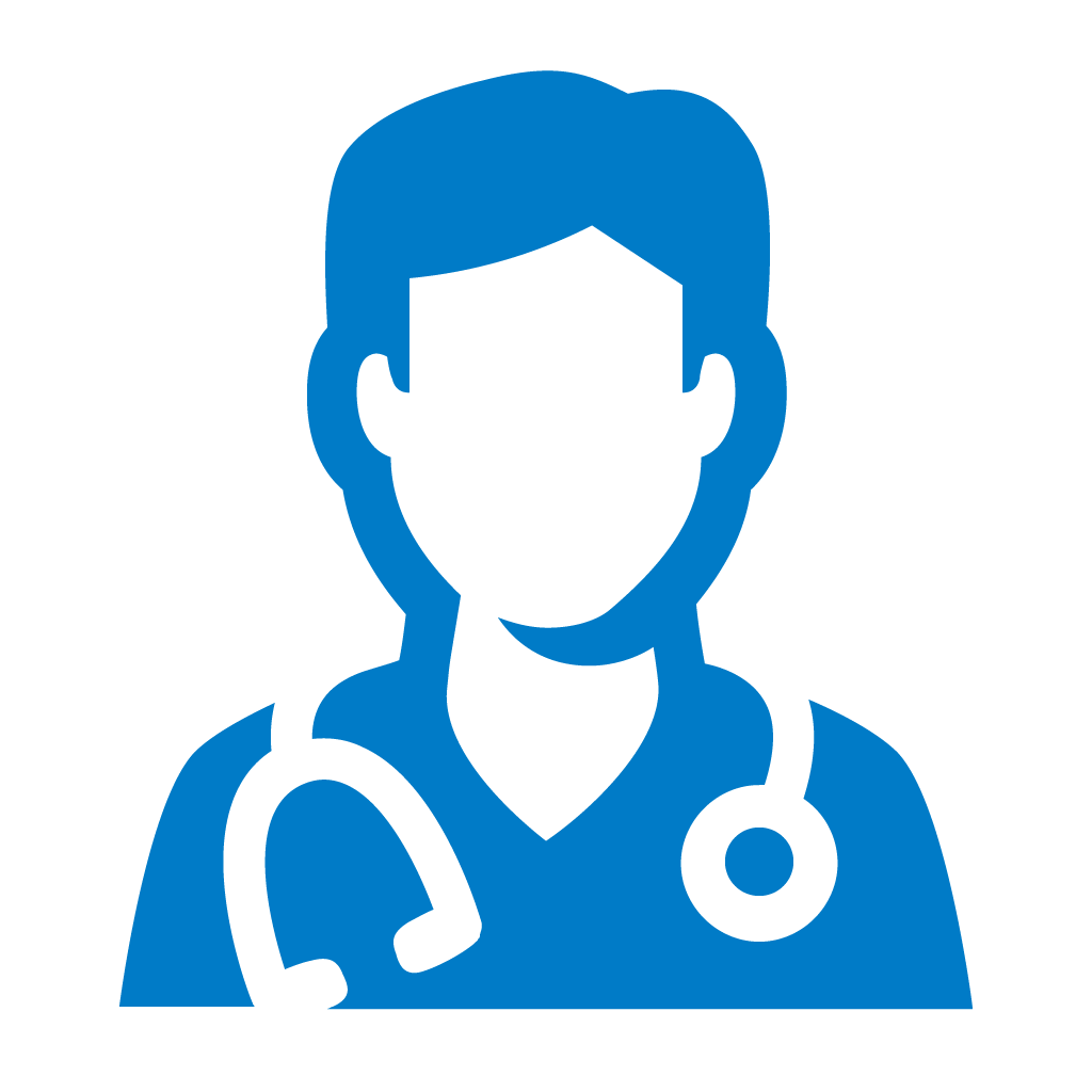 Doctor icon by #dutchicon for the Dutch Government (Rijksoverheid).