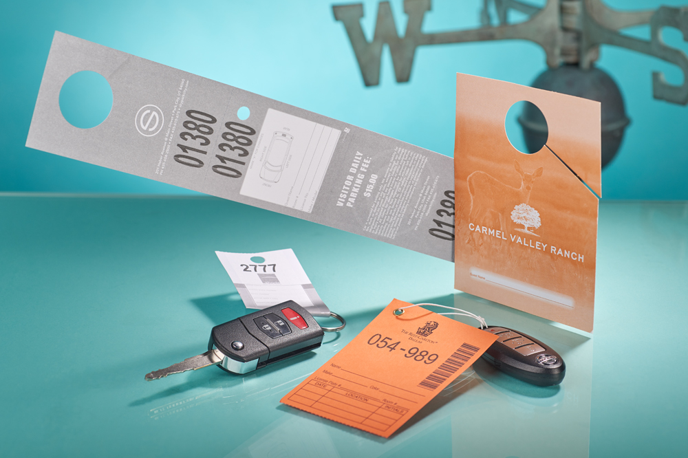 Valet & Self Park Tags - FastTag