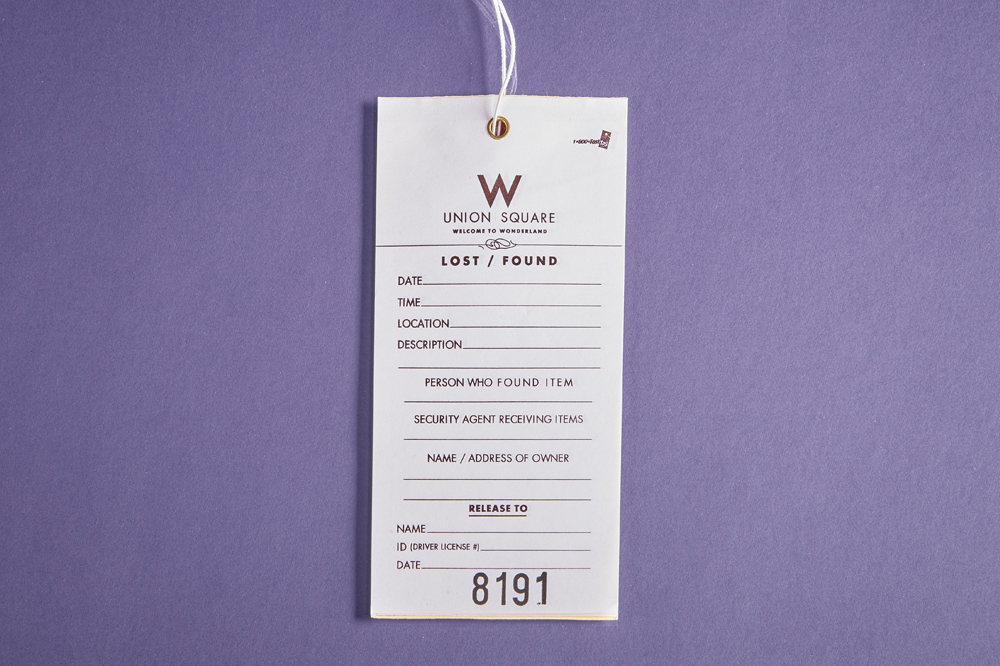 Lost & Found Tags
