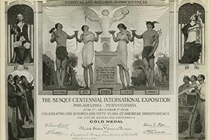 OT Awarded Gold Medal at 1926 World's Fair