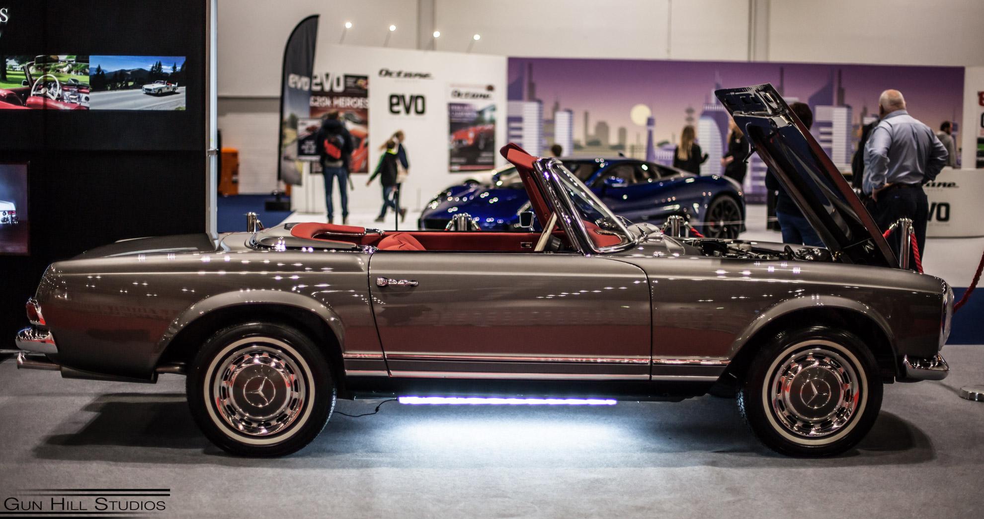London classic car show - Hemmels