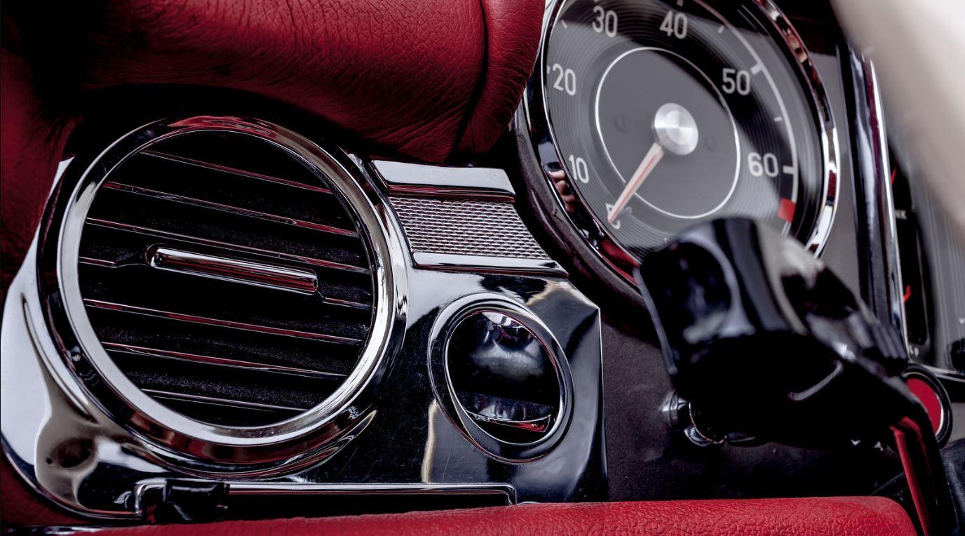 classic pagoda dash board speedometer odometer