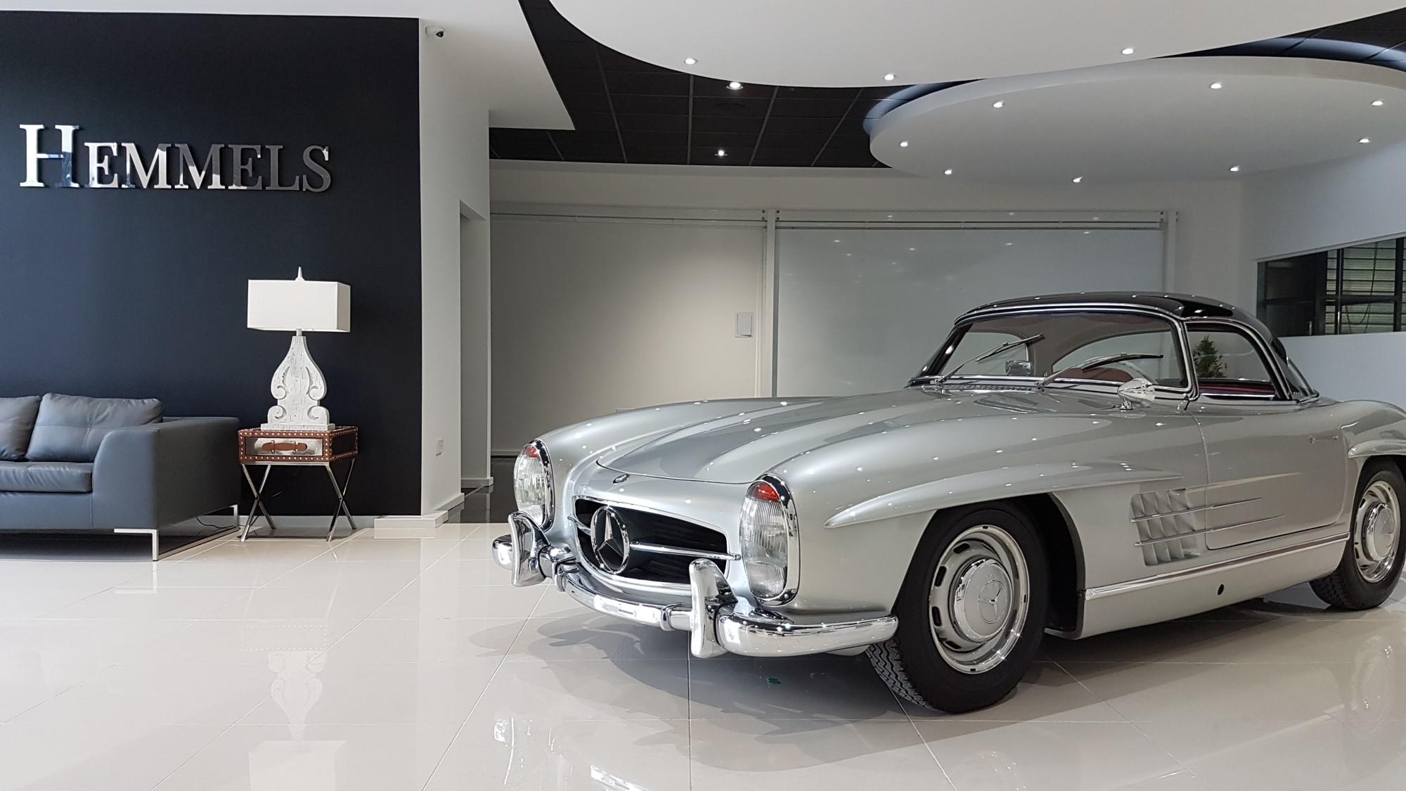 300SL restoration