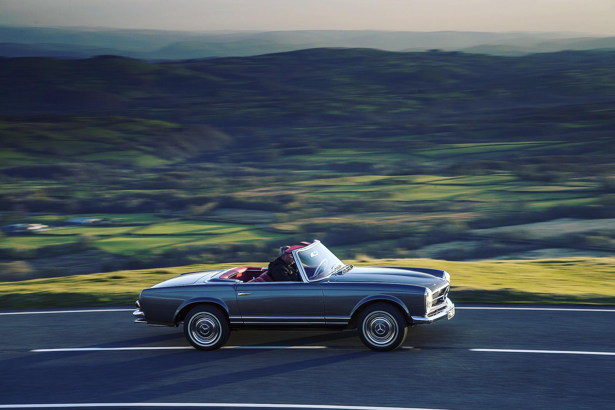 UK classic mercedes-benz restoration