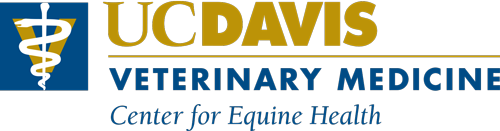 UC Davis Veterinary Medicine Center for Equine Health Logo