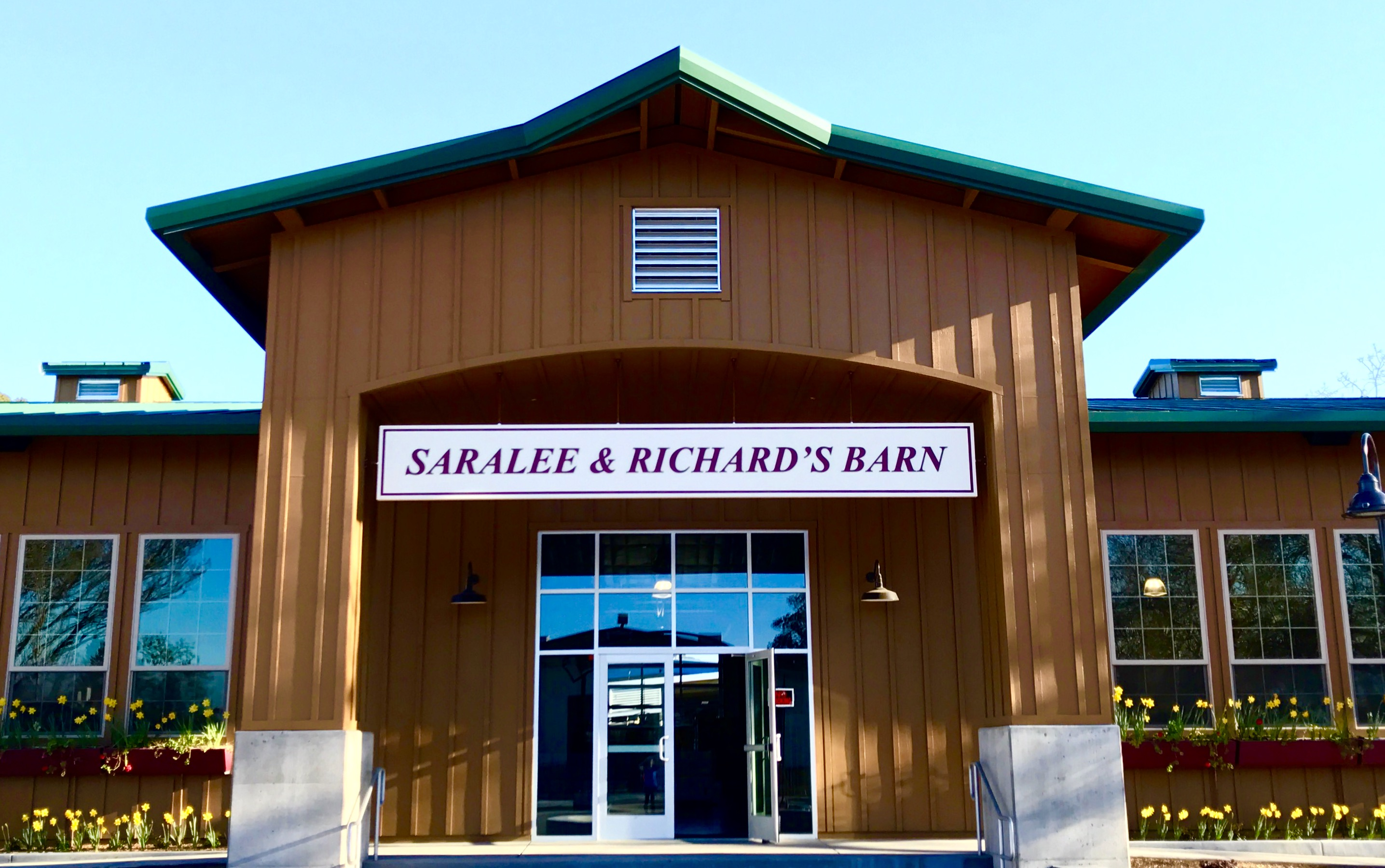 Saralee & Richard's Barn Front