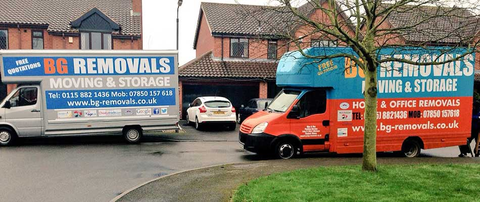 Student Removals in Nottingham, Derby and Leicester
