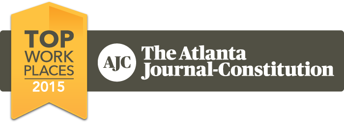 AJC top places to work logo