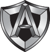 Armored access A logo