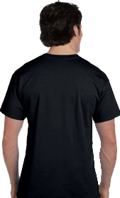 Men's Rock and Roll Custom T-Shirt Back