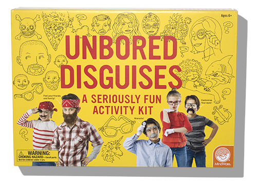 The Unbored Disguises Kit Includes Everything Youll Need In Order To Go Undercover Inside Find Two Sets Of Teeth Beards Five Mustaches