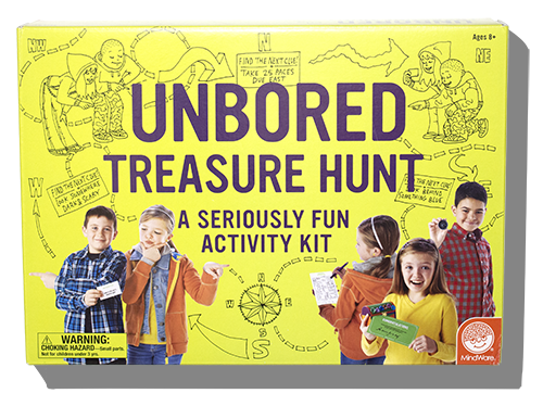 The Second Kit Unbored Treasure Hunt Includes Everything Youll Need To Create Hunts That Take Place Within A Single Room Throughout House