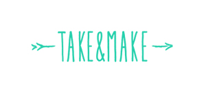take & make logo