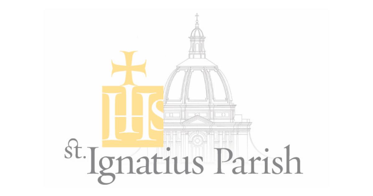 St Ignatious Church Sf Christmas Schedule 2020 St. Ignatius Parish