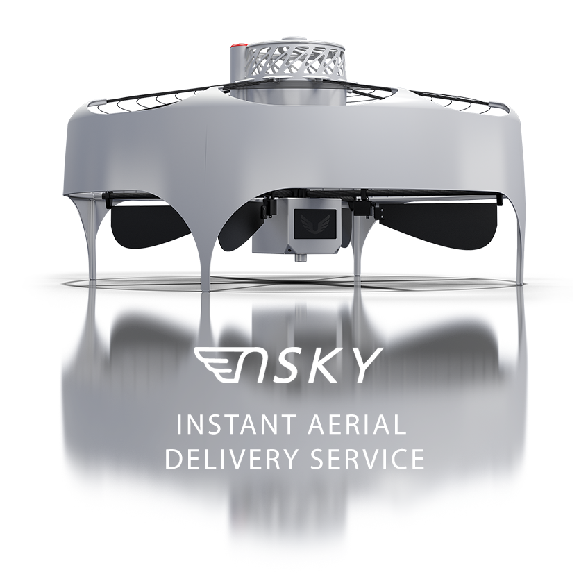 nSKY Instant Aerial Delivery Service