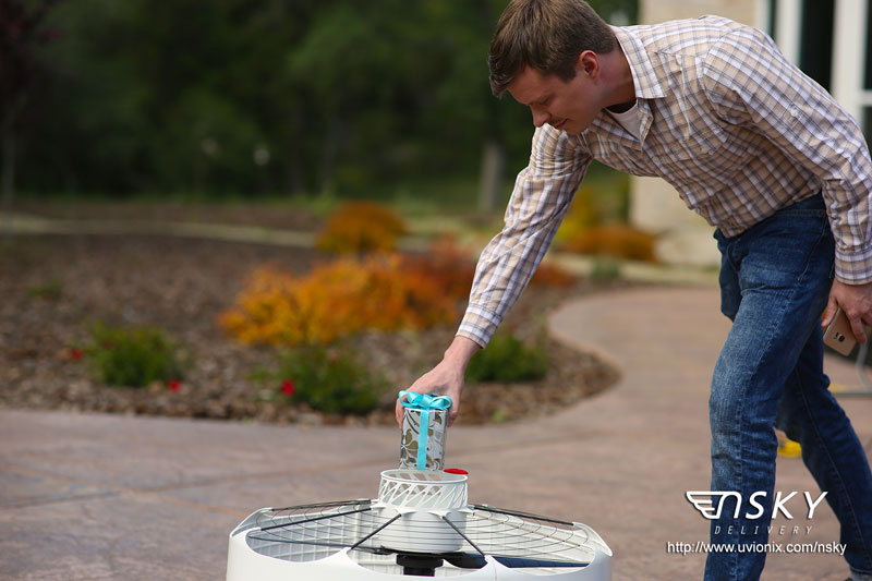 Uvionix nSKY Instant Aerial Delivery