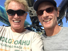 After finishing the Great Peconic Race with the legendary and inspirational Biddle Duke
