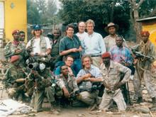 Rwandan Border, Rwandan Genocide with CBS News Crew