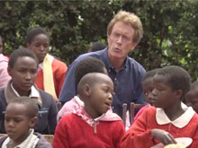 Singing with orphans in Kikuyu Kenya