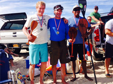Great Peconic Race: Top three finishers