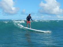 Surfing Kanaha