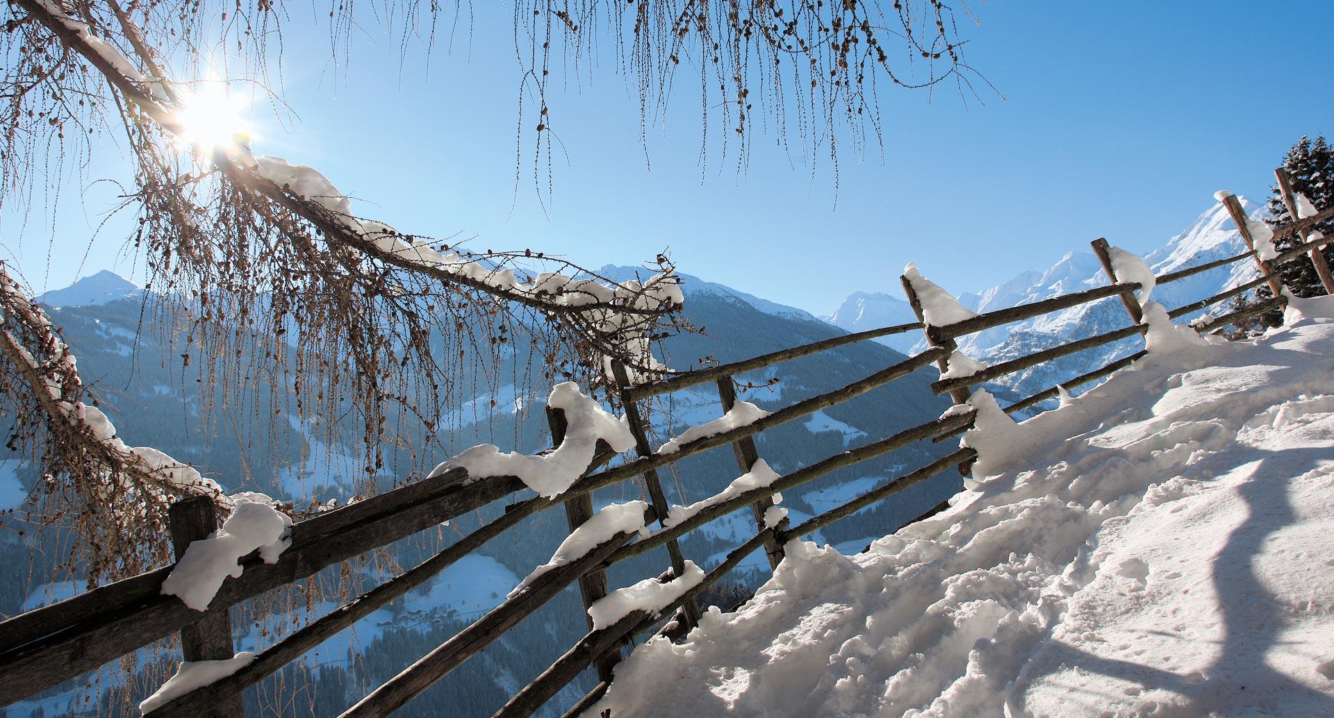 Paesaggi invernali come nelle fiabe al stullerhof for Paesaggi invernali per desktop