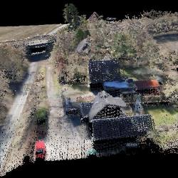 Point cloud from LiDAR Mapping