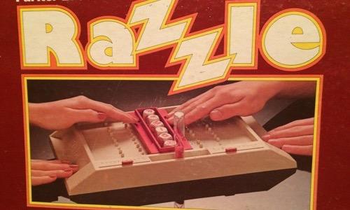 Razzle board game