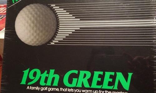 19th Green 80s board game