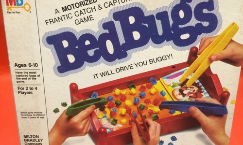 Bed Bugs kids board game
