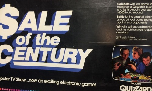 Sale of the Century board game