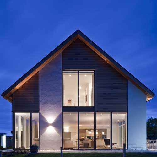 New-build house architect commissions - Inverness, Scotland and UK