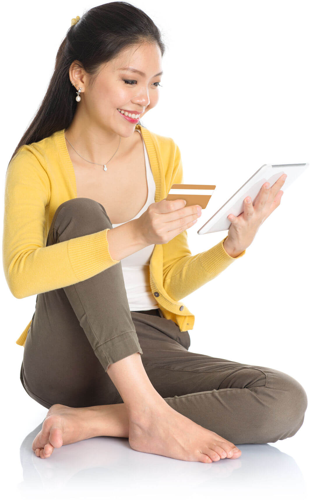 Chinese Online Shopper Using UnionPay Card