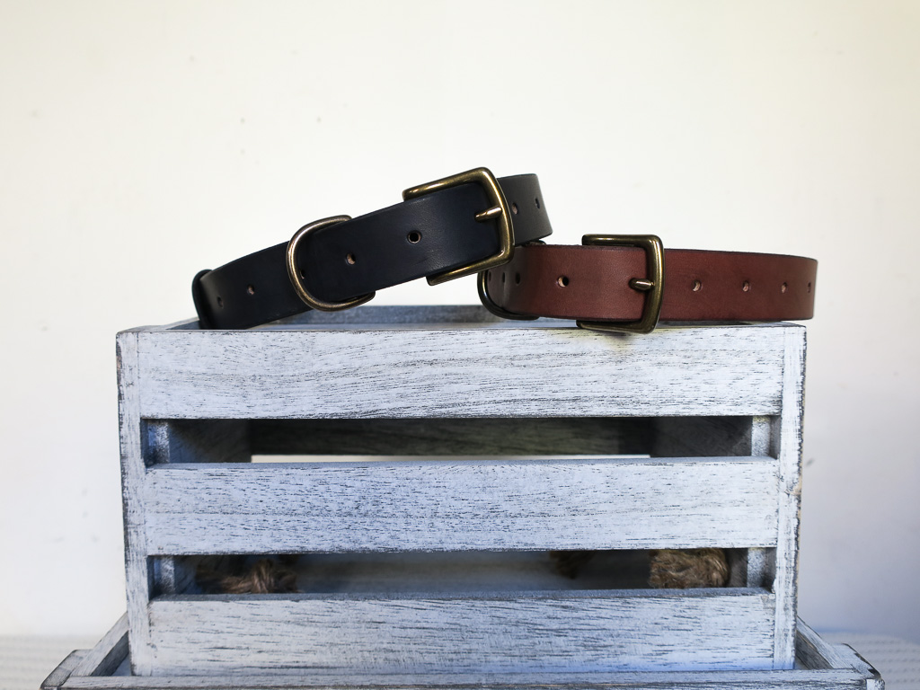 Uphill Designs - Barker pet collar - both colors
