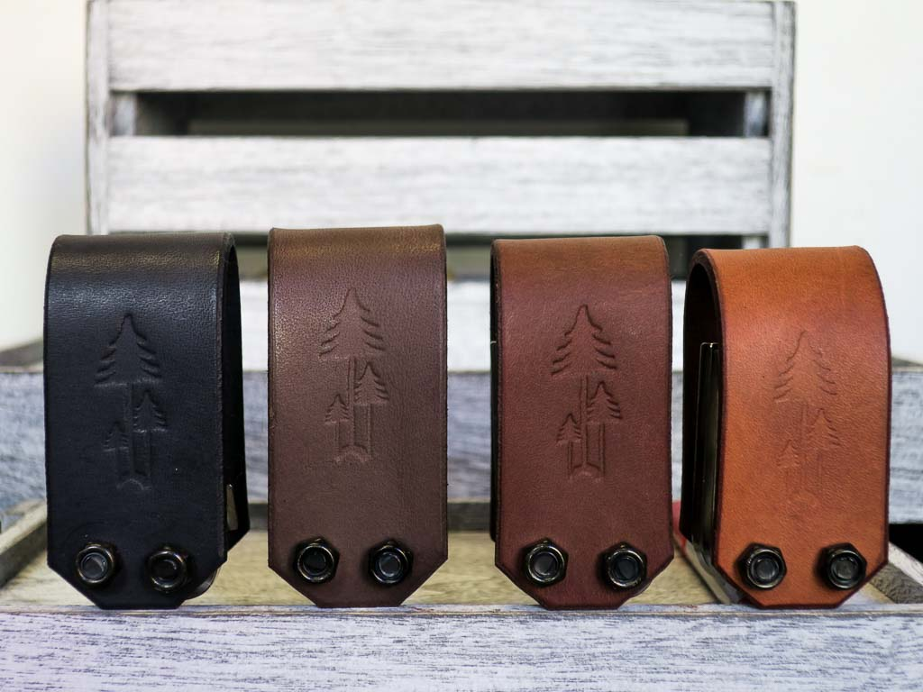Uphill Designs - Acadia leather wrapped bicycle multitool - all colors