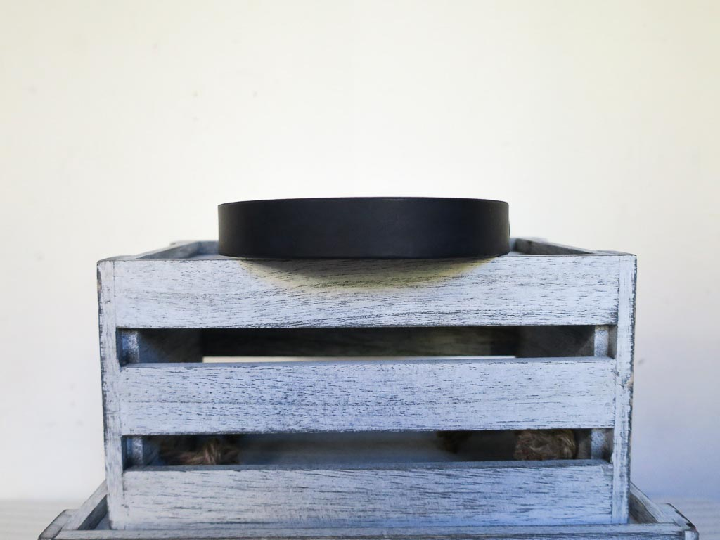 Uphill Designs - Barker pet collar - black back