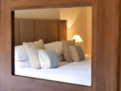 Individually styled bedrooms with a fresh, contemporary feel