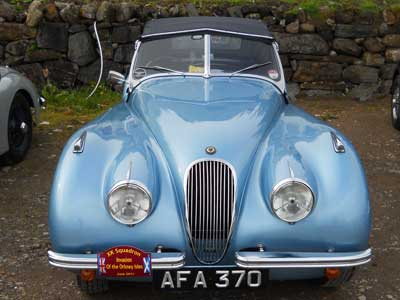 Classic cars at The Pierhouse Hotel and Seafood Restaurant