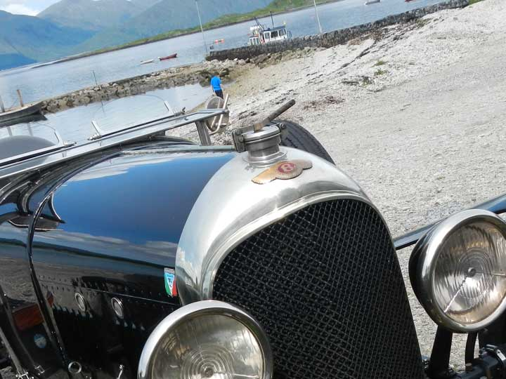 Classic cars welcome at The Pierhouse Hotel