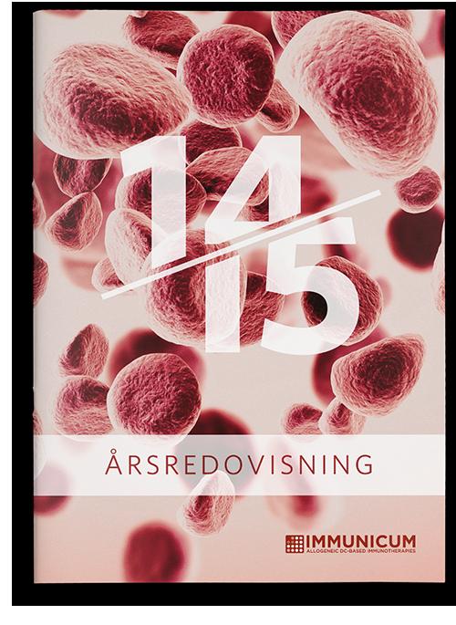 Immunicum annual report cover