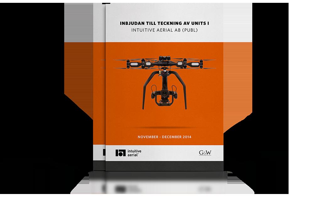 Intuitive Aerial investment memorandum cover