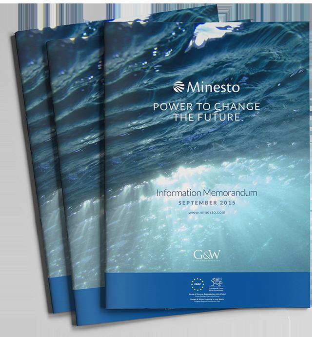 Minesto Investment Memorandum cover