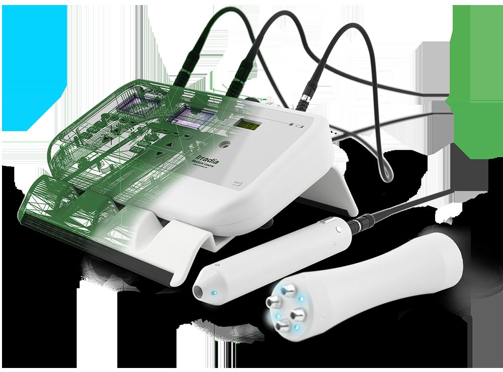 CAD-model of a medical laser