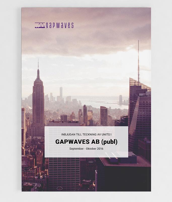 Gapwaves investment memorandum 2016 cover