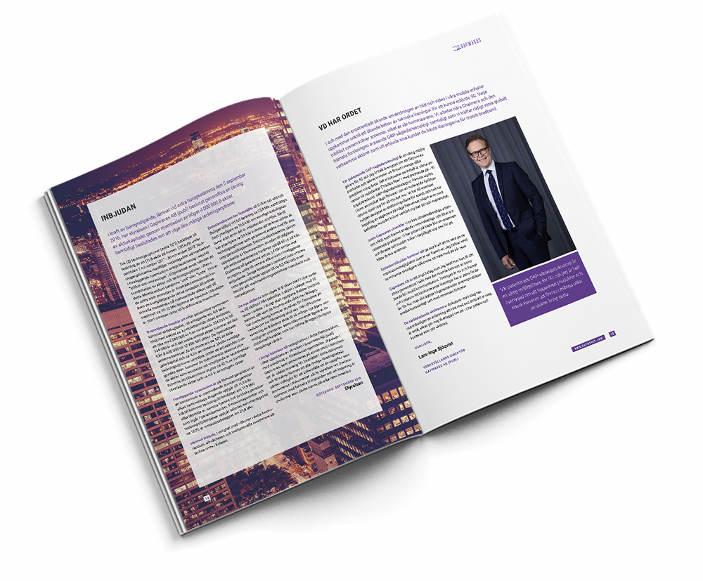 Heliospectra annual report 2015 spread