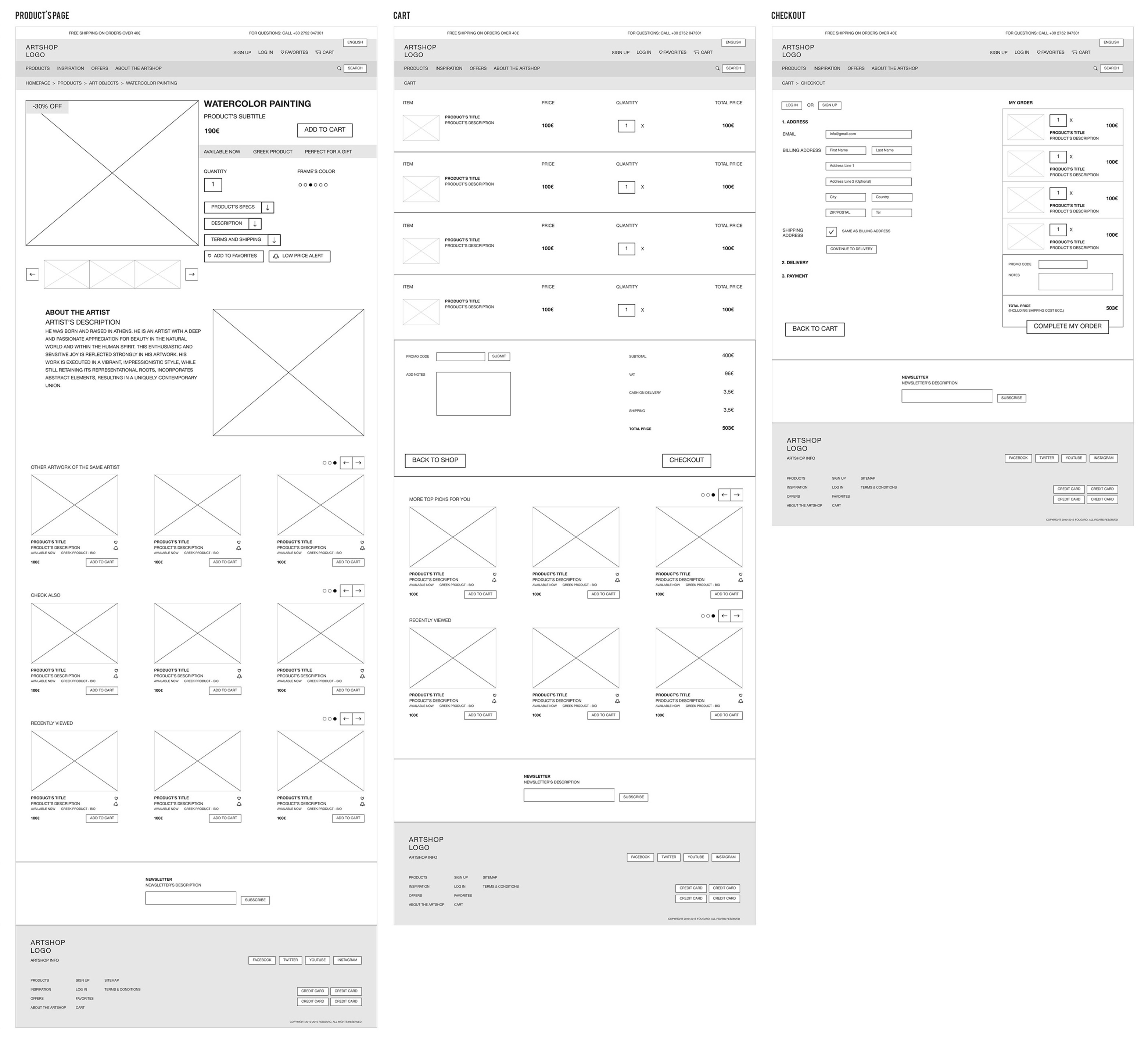 wireframes 2
