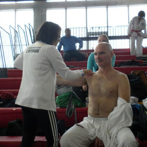 Dr. Dominic Beauchemin, chiropraticienne - Implication sportive 2