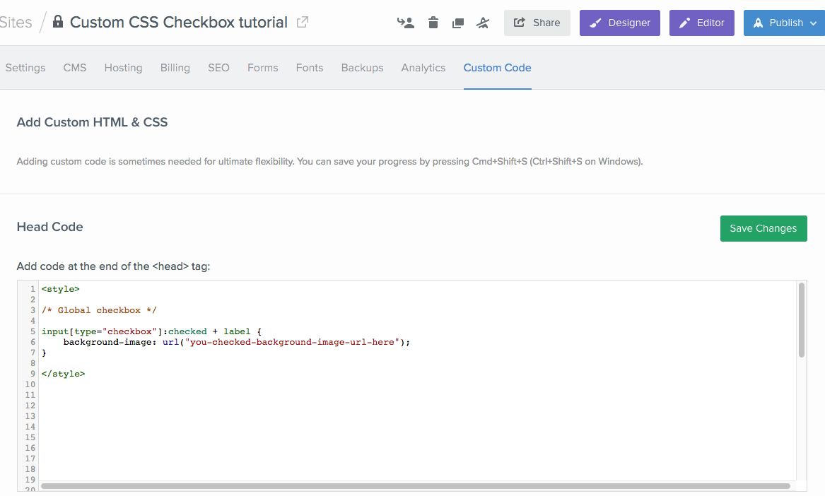 Custom CSS Checkboxes and Radio Buttons in Webflow