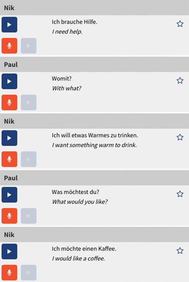 Rocket German audio lesson transcript